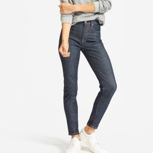 Everlane The High-Rise Skinny Ankle Crop Jeans